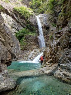 Waterfall, Scene, Japan, River, Rock, Outdoor, Beautiful, Outdoors, Okinawa Japan