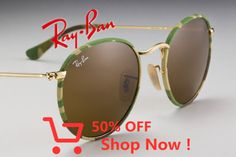 Camo and #‎RayBanRound together at last‬ // www.ray-ban.com