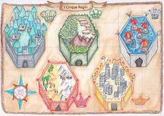 """""""I cinque regni"""", una favola per tutti. Illustrazione e racconto disponibili gratuitamente nel blog post."""