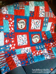 fd1e2020 83 Best Dr. Seuss fabric projects images | Quilt Pattern, Quilt ...