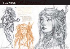 THE BATTLE FOR WONDLA sketchbook - Pesquisa Google