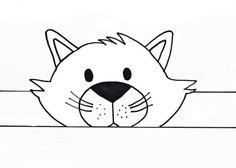 Early Childhood Education: animal visors to print - Espaço Educar - mara Animal Activities, Animal Crafts, Preschool Activities, Simple Cross Stitch, Cross Stitch Rose, Cross Stitch Designs, Cross Stitch Patterns, Toddler Crafts, Crafts For Kids
