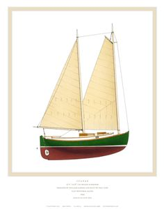 Ralph munroe 39 s egret messing about in boats for William garden sailboat designs