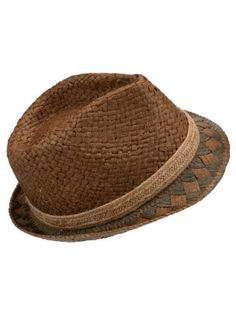 Boys, Day out at the races, this spring, with your Camel and Stone Vintage Look Trilby Hat Renquist Pillai Look Caps Hats, Men's Hats, Straw Hats, Vintage Looks, Vintage Men, Raffia Hat, Wide Brimmed Hats, Dapper Gentleman, Mens Attire