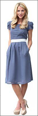Kelsey Dress [BDS1401] - $59.99 : Mikarose Boutique, Reinventing Modesty #mikarosewish