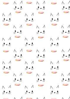 Free digital kitty scrapbooking paper - ausdruckbares Geschenkpapier - freebie | MeinLilaPark – DIY printables and downloads