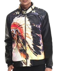 Love this Chief head Sublimation Jacket w/ Faux leather s... on DrJays and only for $27.99. Take 20% off your next DrJays purchase (EXCLUSIONS APPLY). Click on the image above to get your discount.