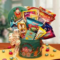Easter Treats and Sweets Pail   Buy at All About Gifts & Baskets (http://www.aagiftsandbaskets.com/easter_treats_and_sweets_pail.html)