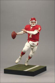 Mcfarlane NFL Series 22 Figure Matt Cassel Kansas City Chiefs Red Jersey