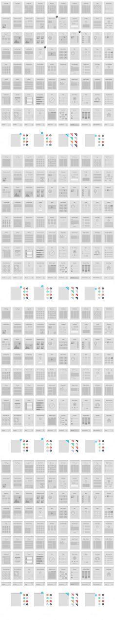 Website Wireframe Kit - Web Elements - 2