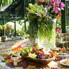 Grazing Table Gallery – Table & Thyme Wedding Appetizer Table, Party Food Buffet, Appetizers Table, Party Food Platters, Wedding Appetizers, Party Trays, Appetizer Recipes, Brunch Party, Easter Brunch