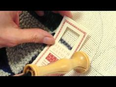Tricks and Tips with Amy Oxford sHow does punch needle rug hooking work?