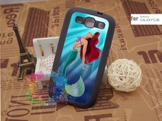 Samsung Galaxy S3 Case Samsung Galaxy S3 Phone Case Samsung Galaxy Cover Hard Plastic or Silicon Rubber Cases - Ariel. $15.99, via Etsy.