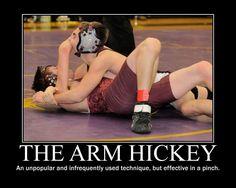 Demotivator - Arm Hickey