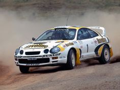 erikwestrallying:  Toyota Celica GT4 rally car