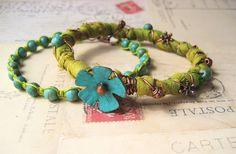 Knot Just Macrame by Sherri Stokey: Flower Bangle Challenge Reveal