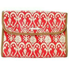 Stella And Dot Travel Case Red Okay Travel Case Stella & Dot Bags Travel Bags