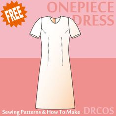 Onepiecedress2 sewing patterns & how to make