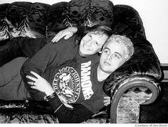 Billie Joe Armstrong of Green Day & Jon Ginoli of Pansy Division
