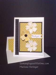 Summer Starfruit DSP Pansy Punch Flower Shop and Sweetly Framed stamp sets Big Shot: Banner and. Bitty Banners Framelits Basic Black scalloped dot ribbon