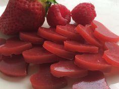 Vegane Fruchtgummis aus roten Beeren – miss ♡ made