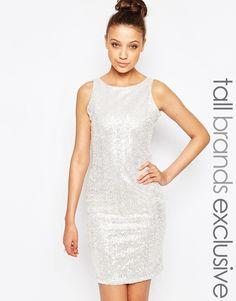 True Decadence Tall Sequin Bodycon Dress