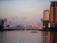 Manchester - Salford Quays Sunrise by ken_davis, via Flickr
