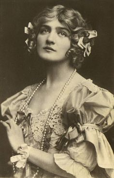 Mujeres de otra época: Miss Lily Elsie