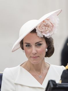Catherine, Duchess of Cambridge attends Trooping The Colour. #TroopingtheColour