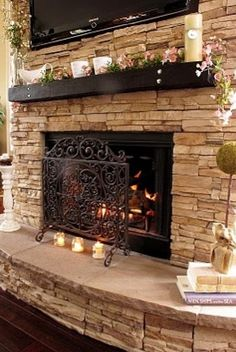 Sandstone Hearth