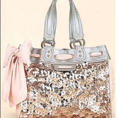 juicy couture sparkle purse. love.