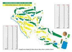 "Percorso di gara #FOOTGOLF EUROPA CUP TORINO 2014, 36 buche del Golf Club ""I…"