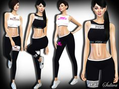Sims 4 CC's - The Best: Fitness Goodies by Saliwa