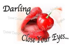 Where Do You Want These Lips Humorus Adult by AnnKayGreetingCards, $5.50