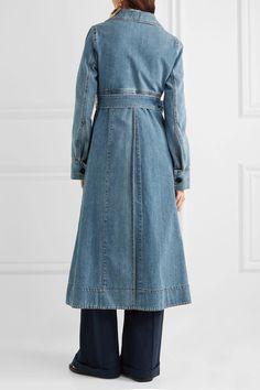 Marni - Belted Denim Coat - Blue - IT46