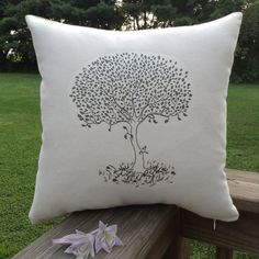 The Giving Tree 14x14 Decorative Novelty by TurtleAndTreadle