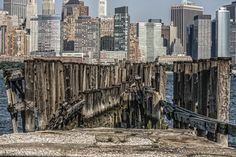 NYC. Pier Out To The City //500px by Linda Karlin