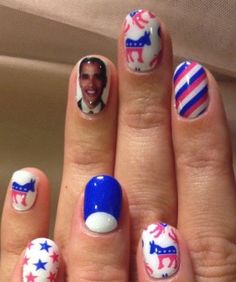 Katy Perry Goes Pro-Bama By Way Of Nail Art