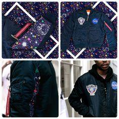 Exclusive Billionaire Boys Club x Alpha Industries MA-1 NASA Flight Jacket #alphaindustries_europe #alphaindustries #billionaireboysclub #bbcalphaindustries