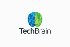 Tech Brain Logo by Arslan on Creative Market