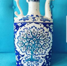 Turkish Tiles, Blues, Blue And White, Instagram, Home Decor, Ideas, Porcelain Ceramics, Decoration Home, Room Decor