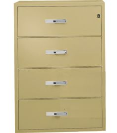 Four Drawer Lateral File Cabinet   Home Furniture Design