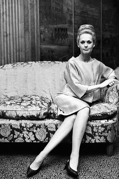 Tippi Hedren for Marnie (1964)......Uploaded By www.1stand2ndtimearound.etsy.com