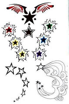Sternen Tatoos
