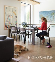 Dogs in beautifully designed homes. | Design: Sara Bellamy Photo: Virginia MacDonald