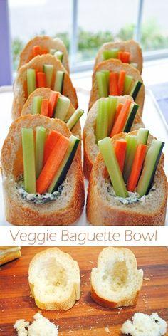 Veggie Baguette Bowl