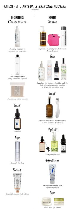 Our Esthetician Shares Her Daily Winter Skincare Routine | https://helloglow.co/esthetician-skincare-routine/