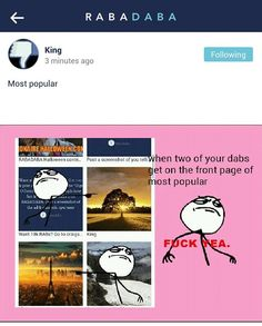 """User """"King"""" has been crushing it and making $$ on the @rabadaba_app ! Why aren't you on #rabadaba ?"""