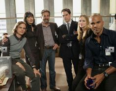 Criminal Minds! My favorite cast! (out of many Criminal minds characters)