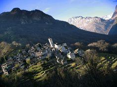 Corippo, valle de Verzasca , Suiza by Fabio Panico